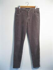 J BRAND | Women's Dark Filly Grey Velvet Style MARIA High Rise Skinny Jeans | 30