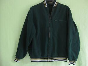 Veste Trevois Made in France Polyamide Vert Vintage 80'S jacket Retro - S