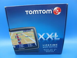"TomTom XXL 540M 5"" Touchscreen GPS w/Lifetime US, Canada & Mexico Maps NIB"
