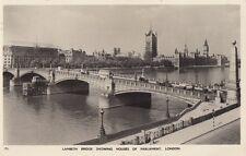 LONDON :Lambeth Bridge showing Houses of Parliament RP-BOREHAM