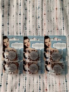 NEW!!  6 Packs Of Invisibobble Brown Nano Small Hair Ring Brand NEW Never Opened