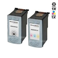 2PK PG-40 CLI-41 for Canon BLACK COLOR Ink Cartridge 0615B002 0617B002 FAX JX200