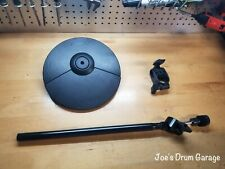 Roland CY-5 Dual Trigger Cymbal Pad w/Cymbal Arm & Clamp - Y8L6320 - MINT!