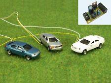 B49 - N 3 Pièces voitures avec 4 del CLIGNOTANTS d'avertissement avertissement