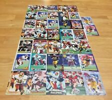 RICKY ERVINS LOT OF 37 FOOTBALL CARDS WASHINGTON REDSKINS RB 49ERS USC TROJANS