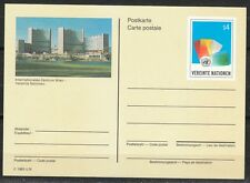 United Nations Vienna 1985 mint postcard UN building