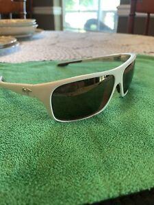 Italy! Maui Jim Island Time MJ237-05M Polar. Men's Sunglasses 64/17 125 /TK811