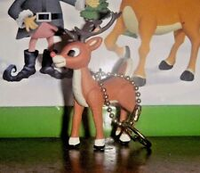 """Rudolph Island of Misfit Toys YOUNG BUCK RUDOLPH 3"""" pvc Holiday Clip On Figure"""