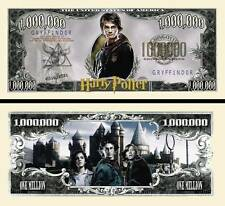 2 Notes Harry Potter Novelty Million Dollar Notes