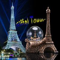 Paris France Water Snow Globe Decoration Ornament Glitter Eiffel Tower Girl Gift