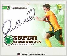 2013-14 A League Trading Cards Super Socceroos Signature SS3 Harry Kewell