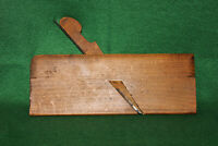 Fine Antique Vintage D. R. BARTON No 4 Round Woodworking Moulding Plane Inv#EB65
