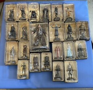 Lot Of 22 GAME OF THRONES Eaglemoss Collector's Set Figurines.