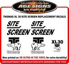 Thomas Site Screen XL 30  Reproduction Decals   graphics