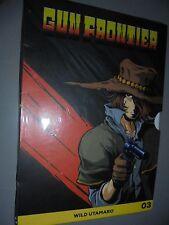 DVD N°21 CAPITÁN HARLOCK GUN FRONTIER N°3 WILD UTAMARO REVISTA DE DEPORTE