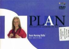 PLAN: Basic Nursing Skills RN Edition 2007 DVD learn medical procedures, NCLEX