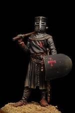 Cavaliere Templare - Figurino Dipinto a Mano  Scala 54mm