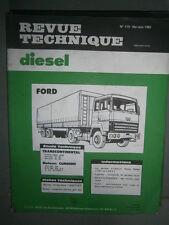 Ford TRANSCONTINENTAL : revue technique RTD 115