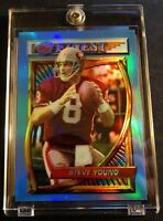 1994 STEVE YOUNG TOPPS FINEST REFRACTOR #77 FORTY NINERS (810)