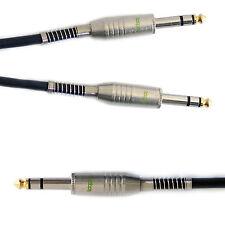"""5m 6.35mm plug to 2x 1/4 """"jack mâle stéréo y séparateur câble-casque audio amp"""