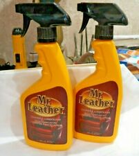 Leather Conditioner Cleaner Treatment Care MR. Leather 16 oz Spray Bottle 2 Pack