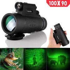 100X90 Long Range HD Optical Lens Monocular Telescope for Observe Phone Portable