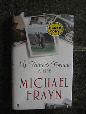 Signed First Edition,First Impression My Father's Fortune by Michael Frayn
