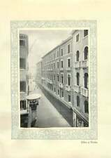 1920 Italy Credito Italiano Office At Venice