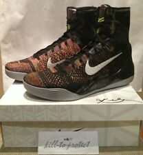 NIKE KOBE 9 IX ELITE MASTERPIECE Sz US15 UK14 Rare 630847-001 MVP PRELUDE 2014