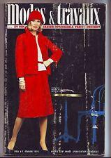 Modes Et Travaux N° 903 Du 01/02/1976