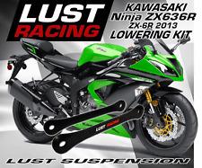 Lujuria Racing Kawasaki Zx6r Zx636r reducción Kit 2013-2016 enlaces vinculación Dogbones