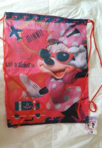 Disney Très joli sac de piscine ou sport Minnie - Neuf avec étiquette
