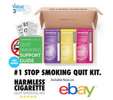 Stop Smoking Aid / Naturally Effective Quit Smoking Aid Habit Replacement 3-Pack