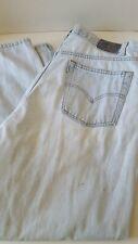 Levi's Vintage Silvertab Mens Jeans 40 x 32 Light Denim Distressed Loose Baggy