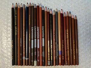 24 Prismacolor & Artist Colored Pencils Brown Metallic Mix Steadtler Laurentien