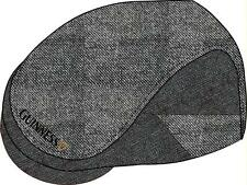More details for guinness greytweed flat cap available in medium and large official merchandise