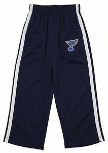 Outerstuff NHL Youth St. Louis Blues Mesh Stripes Pants