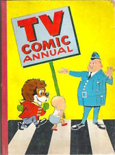 TV COMIC ANNUAL 1960 Blytons Bom Muffin Mule Lenny Lion Coco Clown Packi Red Ray