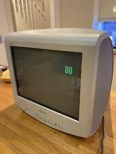 """Sony Trinitron KV-14LT1U 14"""" Screen CRT TV Retro Gaming Monitor TV"""