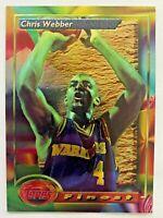 1993-94 Topps Finest CHRIS WEBBER Rookie #212, Golden State Warriors RC