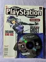 Official PlayStation Magazine & Demo Disc 1 Volume 1 Issue 1 1997 Premiere Issue