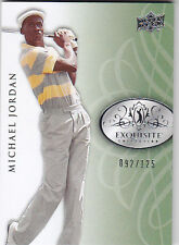2013 UPPER DECK EXQUISITE MICHAEL JORDAN /125 #8