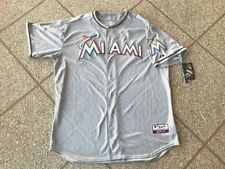 Jose Reyes Miami Marlins Majestic Authentic Cool Base Jersey Men's 52 NWT