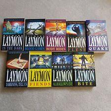 Richard Laymon (9 Paperback Book Bundle Job Lot)