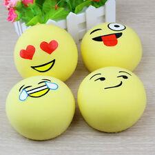 Squishy Cartoon Yellow Emoji Slow Rising Toys Squeeze Bun Adults Stress Relief