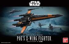 Genuine BANDAI 1/72 Star Wars Poe's X- Wing Fighter Scale Plastic Model F/S Kits