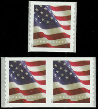 Scott 5159, Flag Issue from 2017 - Pair and Single - MNH