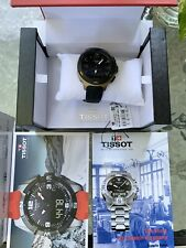 New! Tissot T-Race T-Touch Analog Digital White Rubber Mens Watch
