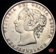 1899 Newfoundland 50 Cents - F/VF - Lot#1620