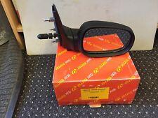 se adapta a RENAULT CLIO 1994-1998 lado derecho espejo lateral MAUAL NEGRO